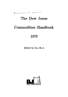 The Dow Jones Commodities Handbook PDF