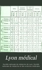 Lyon médical: Volume101
