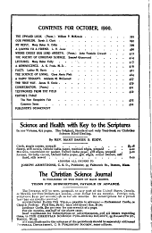 The Christian Science Journal: Volume 18, Issues 7-12