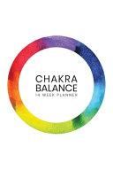 Daily Chakra Balance Planner