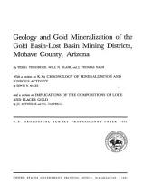 Geology and gold mineralization of the Gold Basin-Lost Basin mining districts, Mohave County, Arizona: Issues 1361-1362