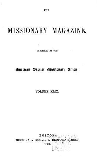 The Missionary Magazine PDF