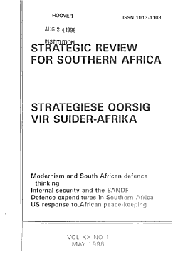Strategic Review for Southern Africa PDF