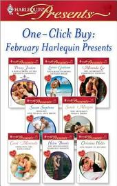 One-Click Buy: February Harlequin Presents: A Royal Bride at the Sheikh's Command\The Greek Tycoon's Defiant Bride\The Guardian's Forbidden Mistress\Bought: One Island, One Bride\The Sicilian's Virgin Bride\Expecting His Love-Child