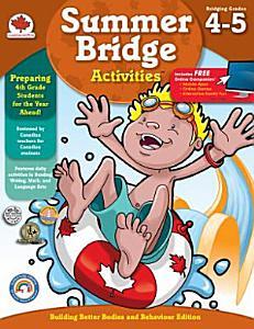 Summer Bridge Activities    Grades 4   5 PDF
