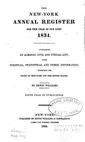 Williams's New York Annual Register