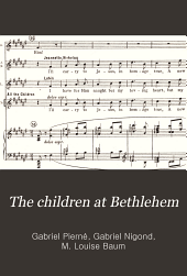 The children at Bethlehem: a mystery in two parts