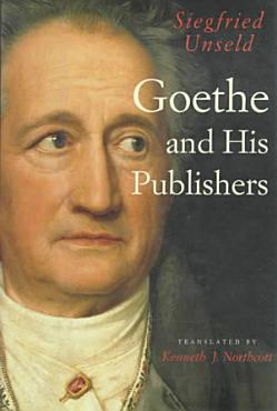 Goethe and His Publishers PDF