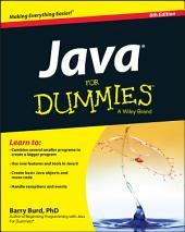 Java For Dummies: Edition 6