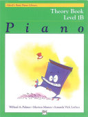 Alfred's Basic Piano Library - Theory Book 1B