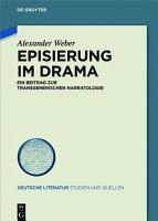 Episierung im Drama PDF