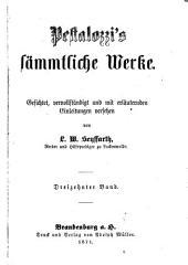 Sämmtliche werke: Bände 13-14