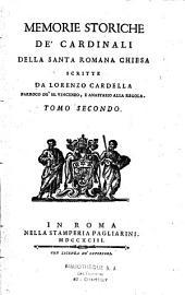 Memorie storiche de' cardinali della santa Romana chiesa