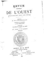 Revue historique de l'Ouest: Volume13