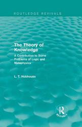 The Theory of Knowledge  Routledge Revivals  PDF