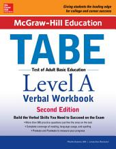 McGraw-Hill Education TABE Level A Verbal Workbook, Second Edition: Edition 2