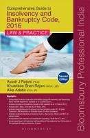 Insolvency and Bankruptcy in India   Law   Practice  2e PDF