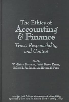 The Ethics of Accounting and Finance PDF