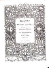 Muster altdeutscher Leinenstickerei: Bände 1-3