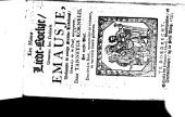Een nieuw Liedt-Boekje genaamt het Dubbelt Emausje ... Den tienden Druk, etc
