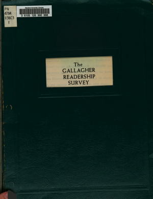The Gallagher Readership Survey PDF