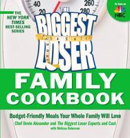 The Biggest Loser Family Cookbook PDF