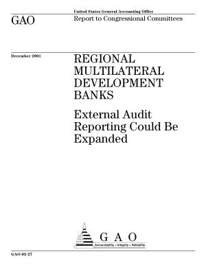 Regional multilateral development banks external audit reporting could be expanded  PDF