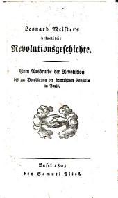 Helvetische Revolutionsgeschichte