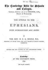 The Epistle to the Ephesians: Volume 42