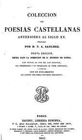 Colección de poesías castellanas anteriores al siglo XV: Volumen 1