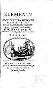 Elementi di architettura militare: Volume 4