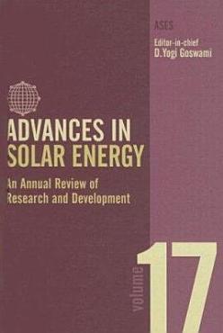 Advances in Solar Energy PDF