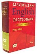 MACMILLAN ENGLISH DICTIONARY           CD X  PDF
