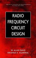 Radio Frequency Circuit Design PDF
