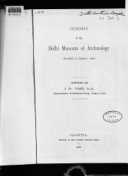 Catalogue Of The Delhi Museum Of Arch Ology Book PDF
