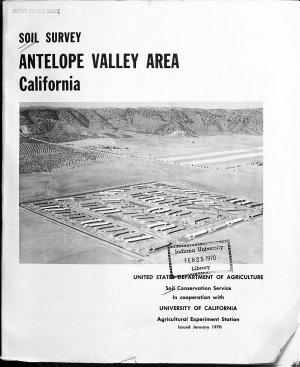 Soil Survey of ... [various Counties, Etc.].