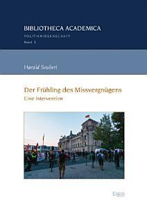 Der Fr  hling des Missvergn  gens PDF
