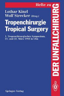Tropenchirurgie Tropical Surgery