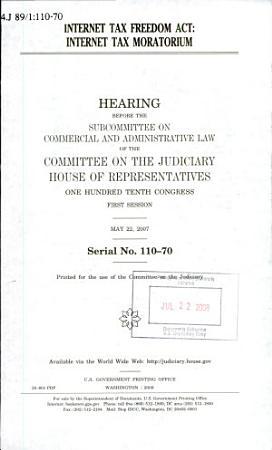 Internet Tax Freedom Act PDF