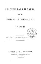 Readings for the young, from the works of sir Walter Scott