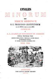 Annales Minorum seu Trium Ordinum a S. Francisco institutorum: Volume 23