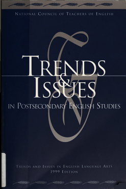 Trends   Issues in Postsecondary English Studies PDF