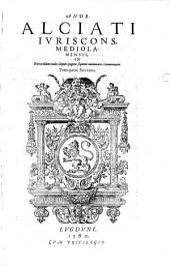 In Digestorum titulos aliquot, pagina quarta enumeratos, commentaria: In decretalium titulos aliquot commentaria, Volume 5
