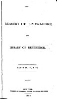 The Treasury of Knowledge  and Library of Reference      The new universal gazetteer  or  Geographical dictionary     By Edwin Williams     4th ed PDF