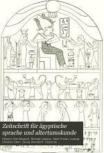 Zeitschrift f  r   gyptische Sprache und Altertumskunde PDF