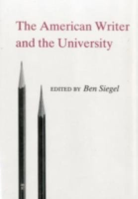 The American Writer and the University