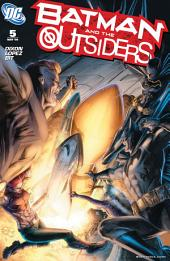 Batman and the Outsiders (2007-) #5