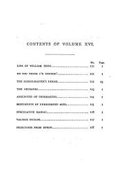 Chambers's miscellany of instructive & entertaining tracts: Volume 16
