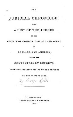 The Judicial Chronicle