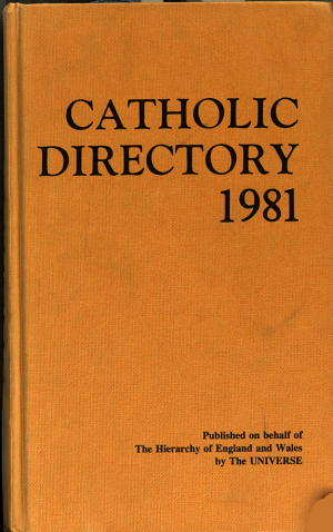 The Catholic Directory of England and Wales
